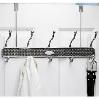 Samsonite Chrome 10-hook Over The Door Hanger
