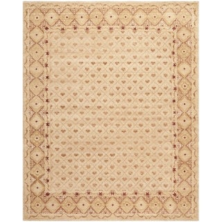 Safavieh Hand-knotted Marrakech Ivory/ Red Wool Rug (10' x 14')