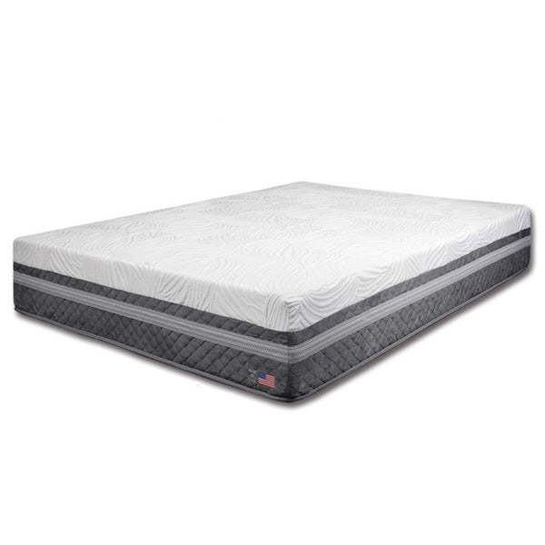 Dreamax 12-Inch Cal King-size Gel Memory Foam Mattress