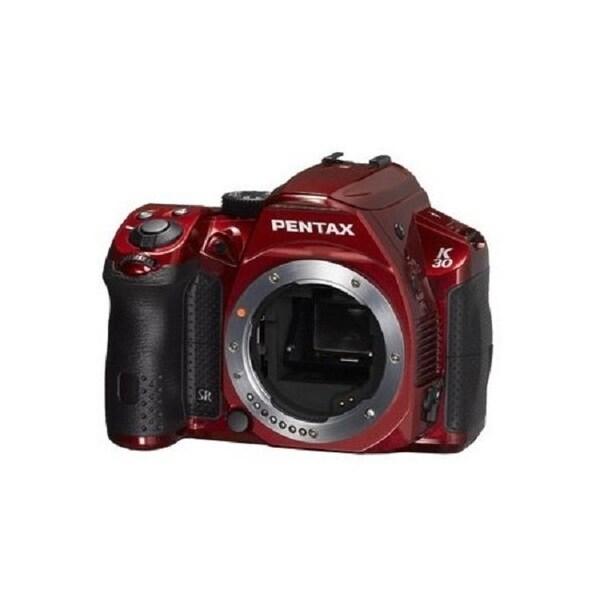 Pentax K-30 16MP Red Digital SLR Camera Body Only