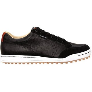 Ashworth Men's Cardiff Black/ White/ Pallatina Golf Shoes
