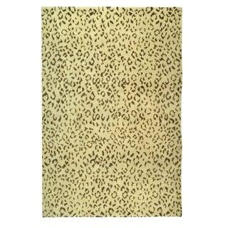 Safavieh Hand-knotted Suzanne Kasler Cream/ Deep Taupe Wool/ Silk Rug (10' x 14')