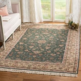 Safavieh Hand-knotted Tabriz Floral Multi Wool/ Silk Rug (8' x 10')