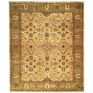 Safavieh Hand-knotted Farahan Sarouk Ivory/ Gold Wool Rug (9' x 12')