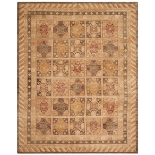 Safavieh Hand-knotted Marrakech Gold/ Tan Wool Rug (6' x 9')