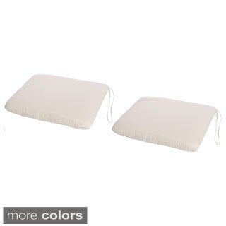 Phat Tommy Sunbrella Outdoor Chair Pads (Set of 2)