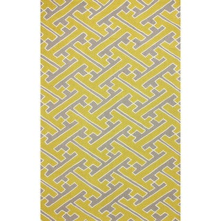 nuLOOM Hand-hooked Victoire Sunflower Rug (8' 6 x 11' 6)