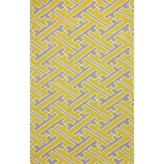 nuLOOM Hand-hooked Victoire Sunflower Rug (8' 6 x 11' 6)