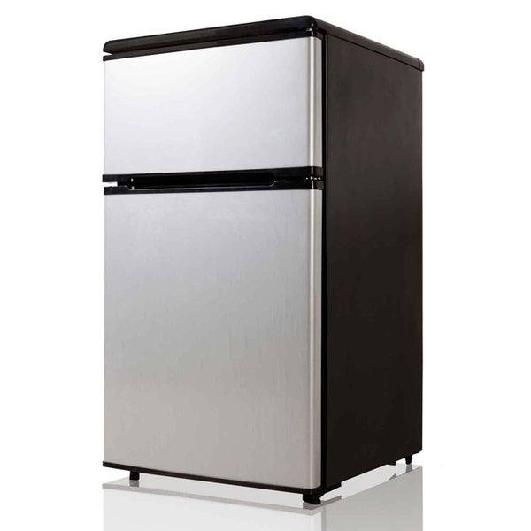 Equator-Midea Stainless Steel 3.1-cubic foot Compact Refrigerator