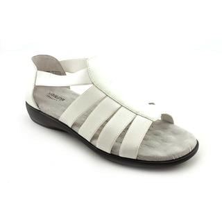 Walking Cradles Women's 'Sunny' Leather Sandals - Extra Wide (Size 11 )