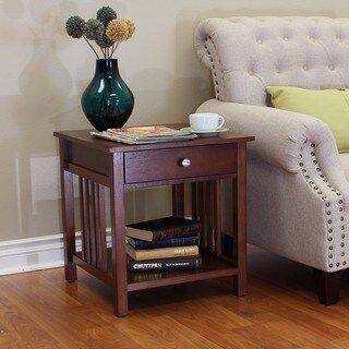 Hollydale Chestnut End Table