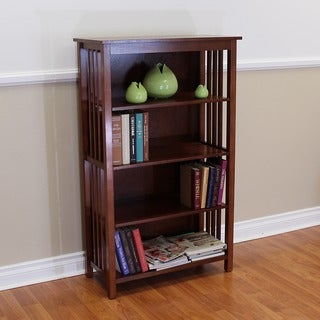 Hollydale 50-inch Chestnut Bookcase