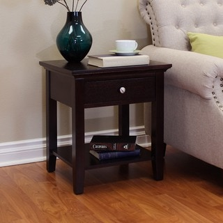 Ferndale Espresso End Table
