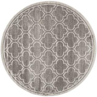Safavieh Amherst Grey/ Light Grey Rug (7' Round)