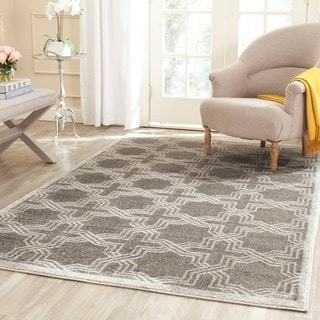 Safavieh Amherst Grey/ Light Grey Rug (7' Square)