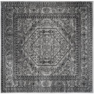 Safavieh Adirondack Silver/ Black Rug (8' Square)