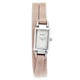 Fossil Women's JR1370 'Delaney' Sand Triple Band Watch