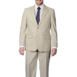 Palm Beach Men's Big & Tall Oyster 2-button Suit