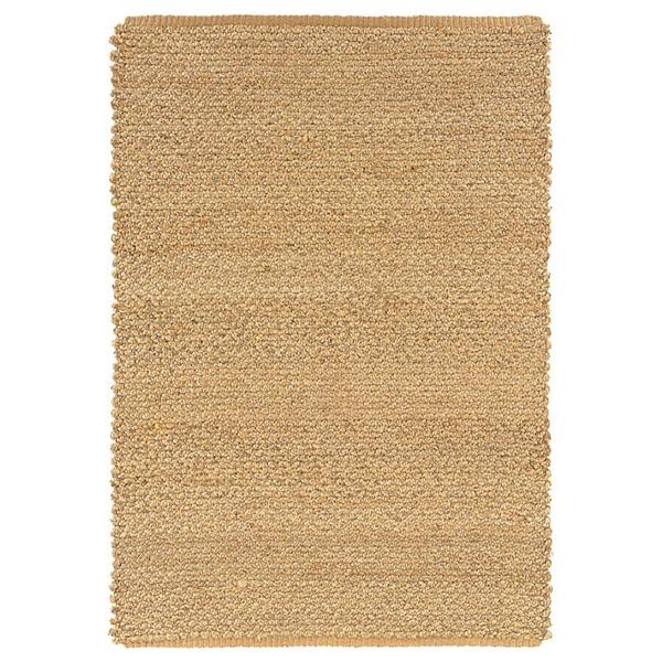 Handmade Braided Thick Natural Jute Rug (4'x6')