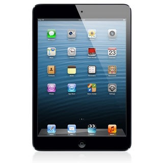 Apple iPad Mini 7.9-inch 16GB iOS Wi-Fi Tablet w/ Bluetooth and Black Accessories Bundle (Refurbished)