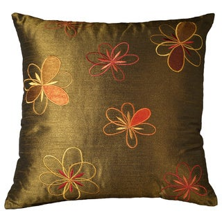 Adelice 18-inch Ivy Floral Decorative Throw Pillow (Set of 2)