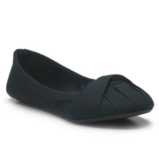 Blue Women's 'Zalta' Canvas Ballerina Flats