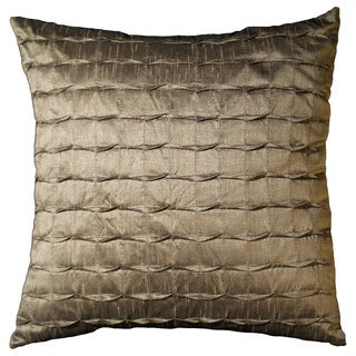 Venessa 18-inch Brown Decorative Throw Pillow (Set of 2)