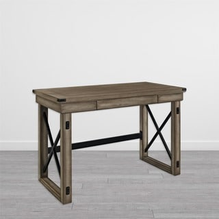 Wildwood Metal Frame Rustic Desk