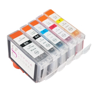 Sophia Global Compatible Ink Cartridge Replacement for Canon BCI-3e and BCI-6 (5 Pack)