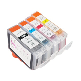 Sophia Global Compatible Ink Cartridge Replacement for Canon BCI-3e and BCI-6 (4 Pack)
