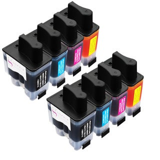 Sophia Global Compatible Ink Cartridge Replacement for Brother LC41 (2 Black, 2 Cyan, 2 Magenta, 2 Yellow)
