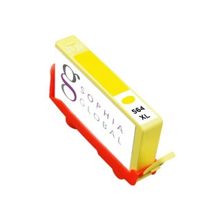Sophia Global Remanufactured Ink Cartridge Replacement for HP 564XL (1 Yellow)
