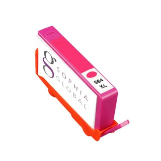 Sophia Global Remanufactured Ink Cartridge Replacement for HP 564XL (1 Magenta)