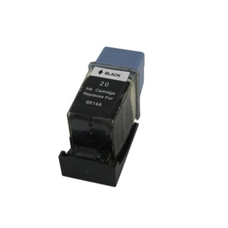 Sophia Global Remanufactured Ink Cartridge Replacement for HP 20 (1 Black)