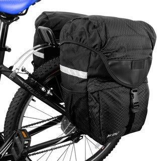 BV Bike Large Pannier Set for Rear Rack Placement