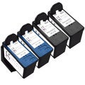 Sophia Global Remanufactured Ink Cartridge Replacement for Lexmark 36 37 (2 Black, 2 Color)