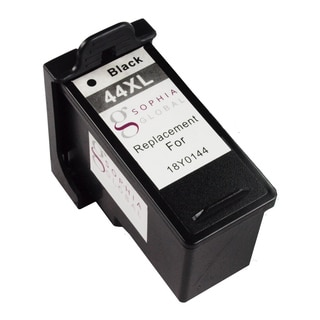 Sophia Global Remanufactured Ink Cartridge Replacement for Lexmark 44XL (1 Black)