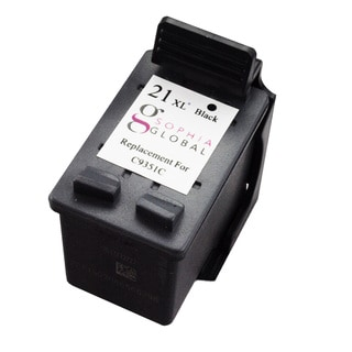 Sophia Global Remanufactured Ink Cartridge Replacement for HP 21XL (1 Black)