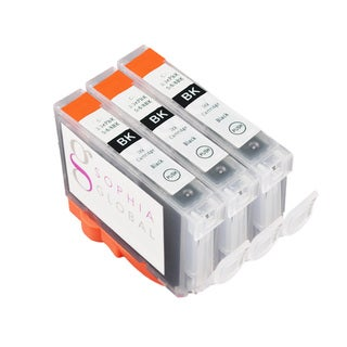Sophia Global Compatible Ink Cartridge Replacement for Canon BCI-6 (3 Black)