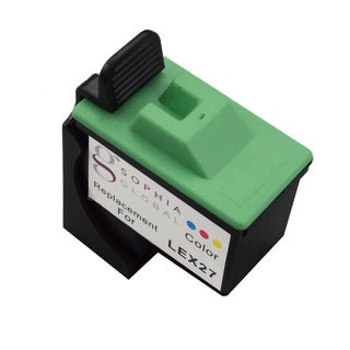 Sophia Global Remanufactured Ink Cartridge Replacement for Lexmark 27 (1 Color)
