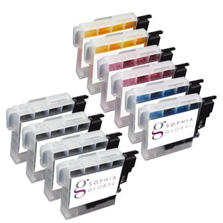 Sophia Global Compatible Ink Cartridge Replacement for Brother LC61 (4 Black, 2 Cyan, 2 Magenta, 2 Yellow)