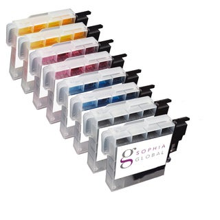 Sophia Global Compatible Ink Cartridge Replacement for Brother LC61 (2 Black, 2 Cyan, 2 Magenta, 2 Yellow)