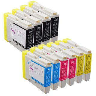 Sophia Global Compatible Ink Cartridge Replacement for Brother LC51 (4 Black, 2 Cyan, 2 Magenta, and 2 Yellow)