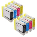 Sophia Global Compatible Ink Cartridge Replacement for Brother LC51 (2 Black, 2 Cyan, 2 Magenta, and 2 Yellow)