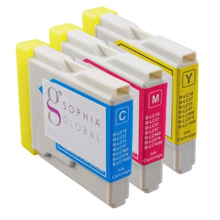 Sophia Global Compatible Ink Cartridge Replacement for Brother LC51 (1 Cyan, 1 Magenta, 1 Yellow)