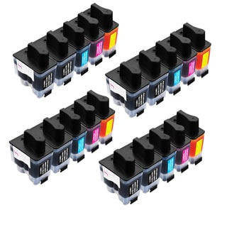 Sophia Global Compatible Ink Cartridge Replacement for Brother LC41 (8 Black, 4 Cyan, 4 Magenta, 4 Yellow)