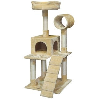 "Go Pet Club 50"" Pressed Wood Cat Tree Condo"
