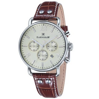 Earnshaw Men's Investigator Chronograph Watch