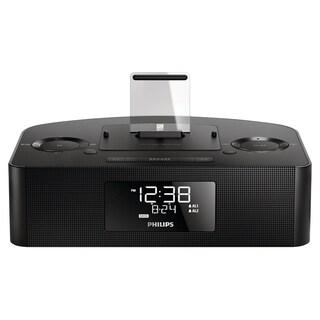Philips AJ7050D Desktop Clock Radio - 8 W RMS - Stereo - Apple Dock I