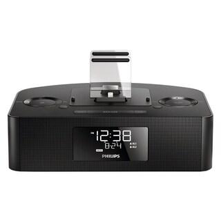 Philips AJ7260D Desktop Clock Radio - 8 W RMS - Stereo - Apple Dock I